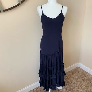Free People tiered woven maxi dress #610